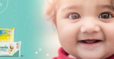 Free Mamia Baby Wipes