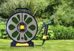 50ft Flat Hose and Reel With Spray Gun for £7.99