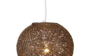 Abaca Ball Light Shade