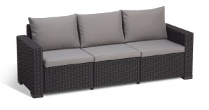 Allibert 3 Seater Sofa