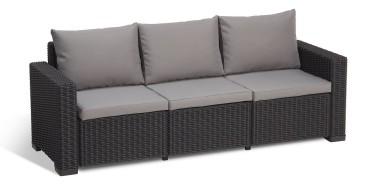 Allibert 3 Seater Sofa
