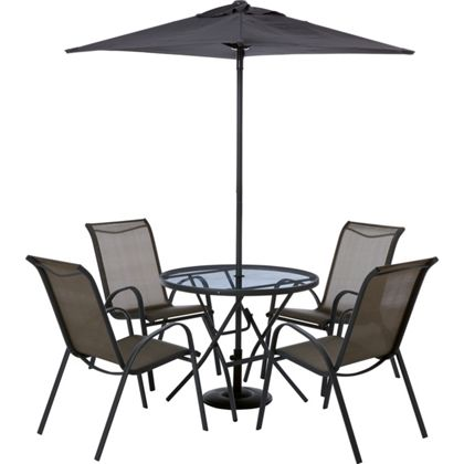 Andorra 4 Seater Metal Garden Furniture Set Grab It 4 Free