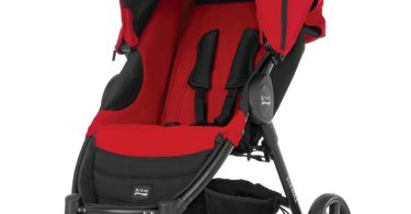 Britax B-Agile Pushchair - Chili Pepper