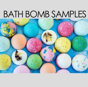 FREE Bath Bomb Samples