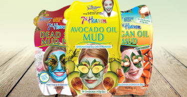 Free 7th Heaven facial mud masque sachet