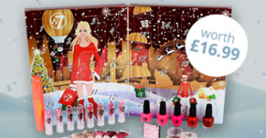 Free W7 Cosmetic Advent Calendar - Worth £16.99