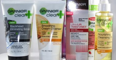 Free Garnier Skincare Products