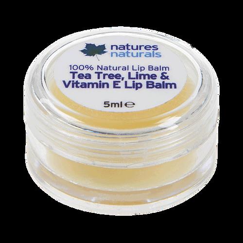 Free Natures Naturals Tea Tree Amp Lime Lip Balm Grab It 4