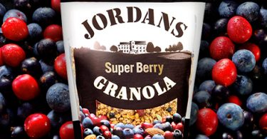 Free Pouch of Jordans Berry Granola