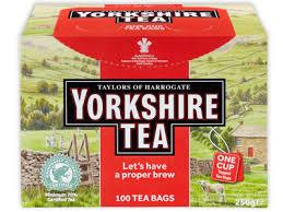 Free Yorkshire Tea