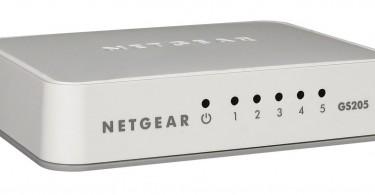 NETGEAR GS205-100UKS 5 Port Gigabit Ethernet