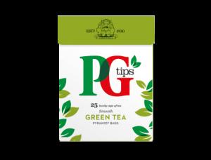 Free PG Tips Green Tea Sample