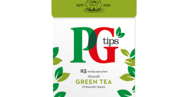 Free PG Tips Green Tea Sample