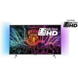 Philips 49PUS6401 49 Inch 4K Ultra HD Ambilight Smart TV
