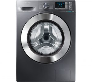 SAMSUNG ecobubble WF90F5E5U4X Washing Machine
