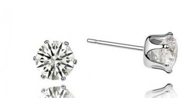 Solitaire Elegance Ear Rings
