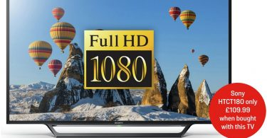 Sony 48 Inch KDL48WD653BU FHD Smart LED TV