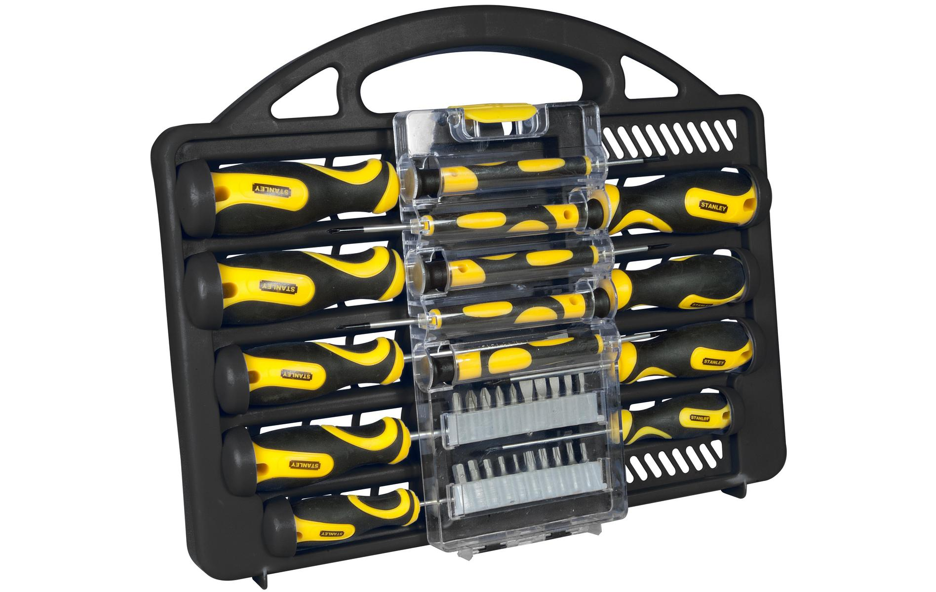 stanley 34 piece screwdriver set 9 halfords grab it 4 free. Black Bedroom Furniture Sets. Home Design Ideas