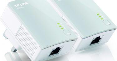 TP-LINK TL-PA4010KIT AV600 Powerline Adapter - Twin Pack