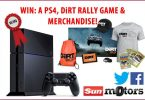 Win A Playstation 4 A Copy Of Dirt Rally And Merchandise Bundle