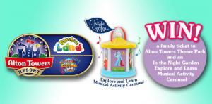 Win family tickets to Alton Towers Theme Park