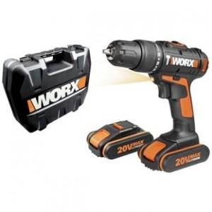20v Hammer Drill 2 Batteries