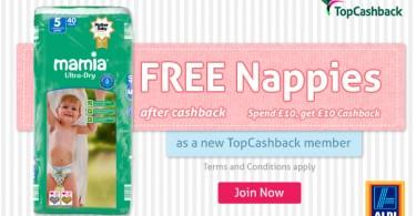 Free Aldi Nappies