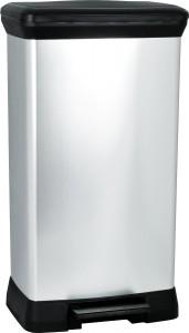 Curver 50L Silver Bin