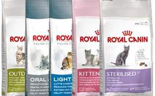 free 400g bag from the ROYAL CANIN® feline ranges