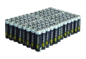 Maplin Extra Long Life Alkaline Value AA Batteries 100 Pack